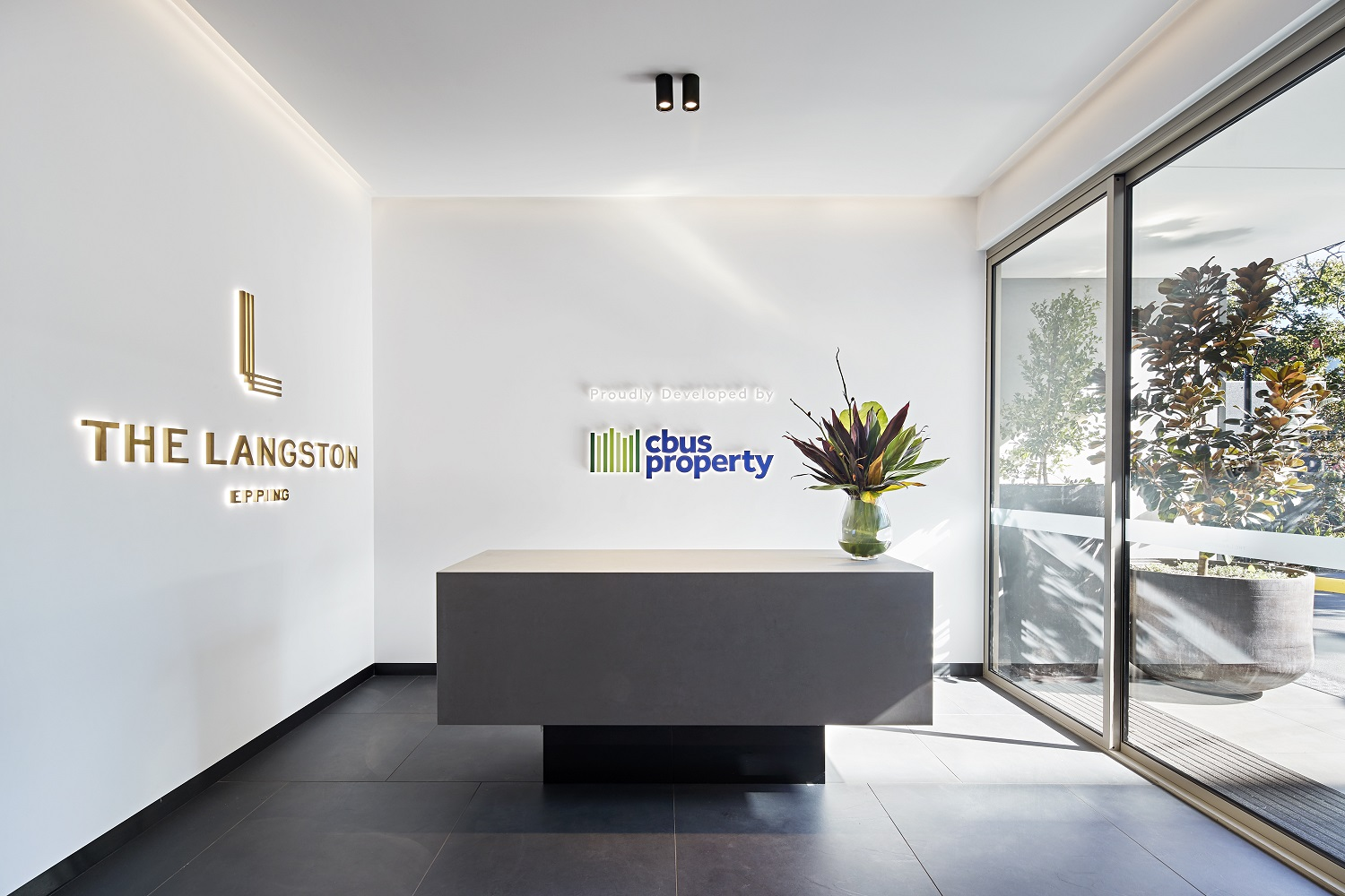 The Langston Sales Gallery foyer